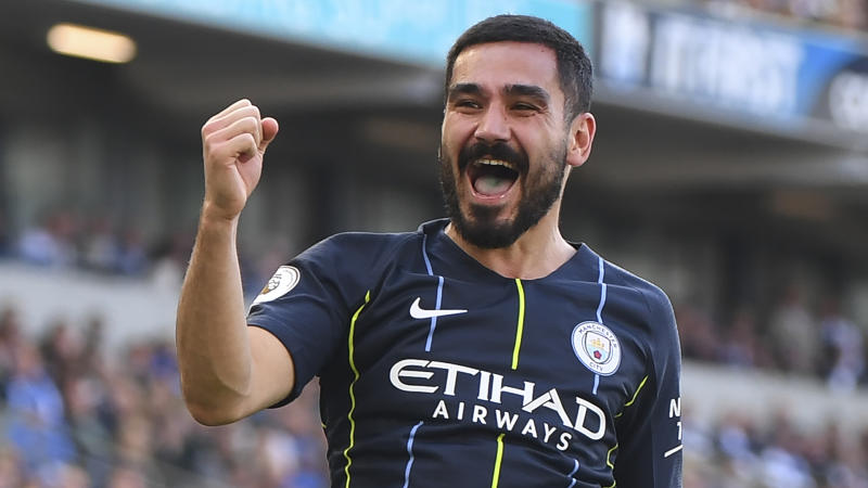 Gundogan extends Manchester City stay until 2023 with new four-year contract