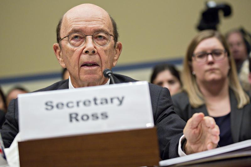 The Supreme Court on Tuesday reviewed a controversial decision by Commerce Secretary Wilbur Ross to add a citizenship question to the 2020 census.