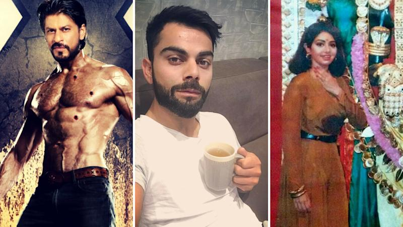 On Twitter Today: SRK's Surgery, Kohli's Detox, RGV's Throwback