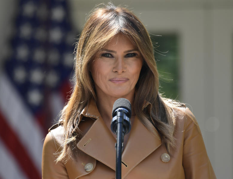 First lady to hang back on president's Camp David weekend