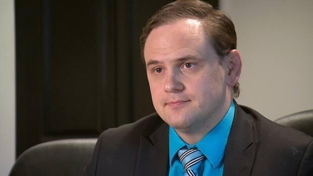 Mathew Farrell with Guardian Law Group says the damage from the opioid crisis didn't stop at the Canadian border.  (CBC - image credit)