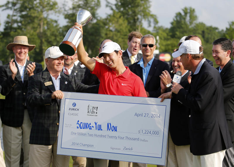 Noh refuses to wilt, take first PGA Tour triumph