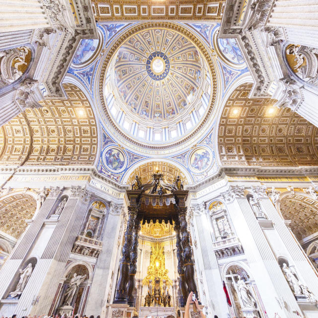 <p>The San Pietro, Rome. (Photo: Loic Lagard/Caters News) </p>