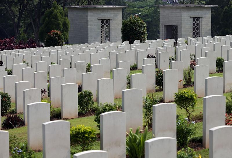 Kranji War Memorial. (Getty Images file photo)