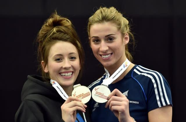 Jade Jones and Bianca Walkden can resume official sparring next week (Martin Rickett/PA)