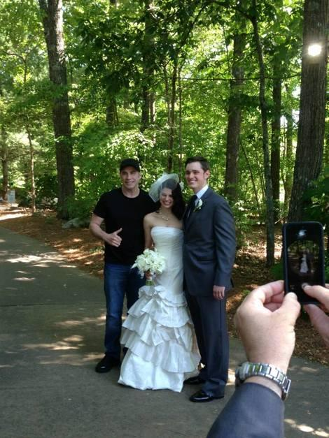 This Is What Happens When John Travolta Crashes Your Wedding