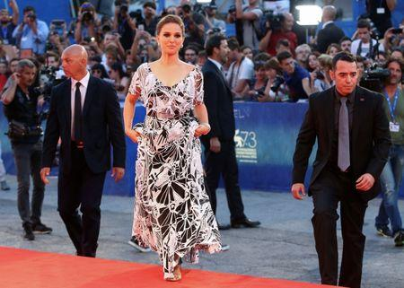"Actress Natalie Portman arrives at the red carpet for the movie ""Jackie"" at the 73rd Venice Film Festival in Venice, Italy September 7, 2016. REUTERS/Alessandro Bianchi"