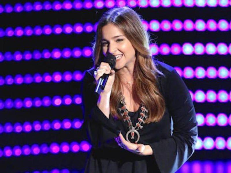 "Alisan Porter on ""The Voice."""