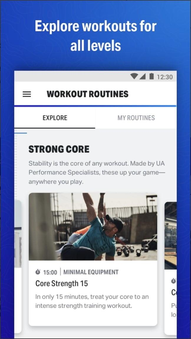 best free workout apps for ios and android map my fitness under armour app3