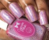 <p>Get your nails spring ready with the <span>Cupcake Polish in Pier Pressure</span> ($13) baby pink holographic nail polish.</p>
