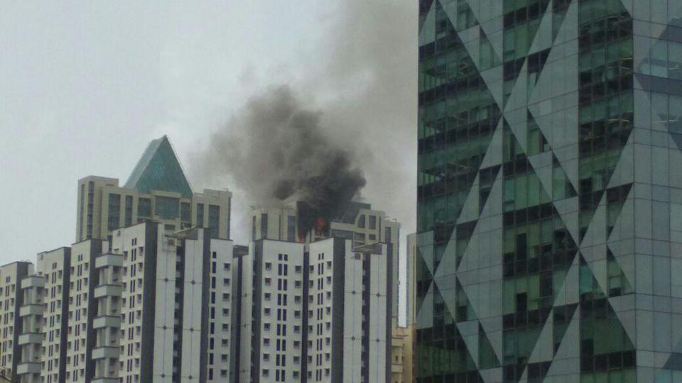 Massive fire breaks out at Deepika Padukone's apartment ...