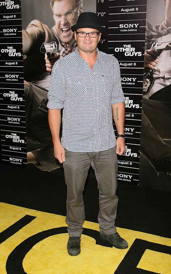 """<a href=""""http://movies.yahoo.com/movie/contributor/1800021781"""">Chris Bauer</a> at the New York City premiere of <a href=""""http://movies.yahoo.com/movie/1810116447/info"""">The Other Guys</a> - 08/02/2010"""