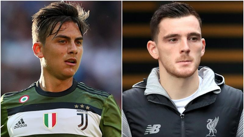 Dybala joins Common Goal and Robertson opens up – Thursday's sporting social