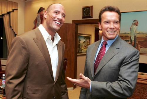 The Rock Vs Arnold Schwarzenegger