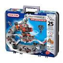 """<p><strong><em>Erector Super Construction Set, $120</em></strong> <a class=""""link rapid-noclick-resp"""" href=""""https://www.amazon.com/Meccano-Erector-Construction-Models-Discontinued-manufacturer/dp/B000GOF5S2?tag=syn-yahoo-20&ascsubtag=%5Bartid%7C10050.g.35033504%5Bsrc%7Cyahoo-us"""" rel=""""nofollow noopener"""" target=""""_blank"""" data-ylk=""""slk:BUY NOW"""">BUY NOW</a></p><p>The Erector Set is a metal toy construction set first introduced to the public in 1913 at the Toy Fair in New York City. Consisting of various metal beams with holes for assembly using nuts and bolts, the toy quickly became a hit for its ability to let users build a model, take it apart, and build something else. The same fascination rings true today.</p>"""