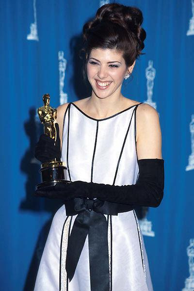 "<p>Marisa Tomei comes out of nowhere – If you were placing bets on who would win the Best Supporting Actress Oscar at the 1992 Academy Awards, you'd almost certainly put your money on nominees like established English stage and screen actresses Vanessa Redgrave (""Howards End"") and Miranda Richardson (""Damage""). Almost no one predicted that Brooklyn-born 28-year-old actress Marisa Tomei would take home the Oscar for her comic turn as Mona Lisa Vito in the courtroom comedy ""My Cousin Vinny."" A true breakout performance for Tomei, the actress has since been nominated twice more in the same category, once for 2001's ""In the Bedroom"" and again in 2008 for ""The Wrestler."" Everyone has to start somewhere!</p>"