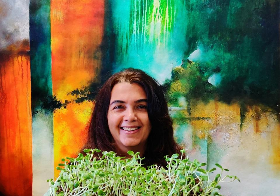 Three years ago, Shruti Malhotra, a dentist by profession shifted her focus to microgreens