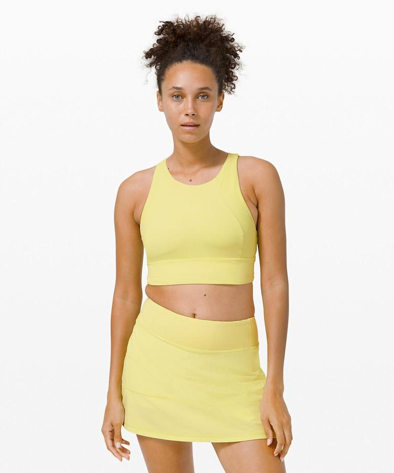 """<p><strong>Lululemon</strong></p><p>lululemon.com</p><p><strong>$68.00</strong></p><p><a href=""""https://go.redirectingat.com?id=74968X1596630&url=https%3A%2F%2Fshop.lululemon.com%2Fp%2Fwomen-sports-bras%2FSet-Challenger-Bra%2F_%2Fprod9820305&sref=https%3A%2F%2Fwww.seventeen.com%2Ffashion%2Fg33280324%2Factivewear-brands%2F"""" target=""""_blank"""">Shop Now</a></p><p>We all know <a href=""""https://www.seventeen.com/fashion/g27325538/best-lululemon-leggings/"""" target=""""_blank"""">Lululemon has the best leggings</a> for basically every occasion. It's time we branched out and shop their other cute AF activewear pieces, like this adorable lemon tennis set for example. </p>"""