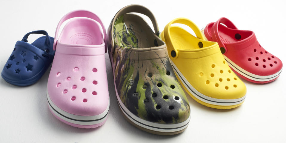 Crocs as we know them. (Photo: Getty)