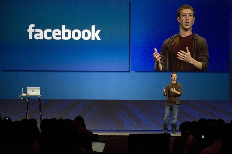 Zuckerberg, founder and CEO of Facebook, delivers a keynote address at the company's annual conference in San Francisco