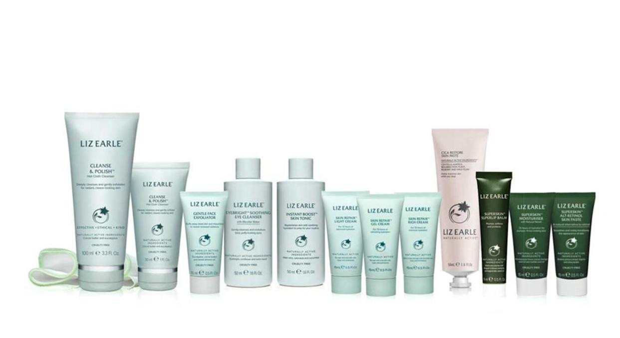 It's filled with all our favourites. (Liz Earle)