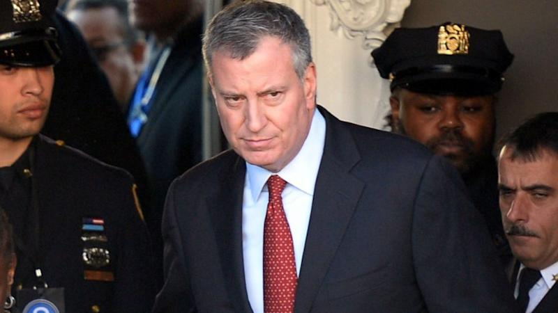 NYC Mayor Bill de Blasio Aims to 'Move Forward Together' With Police Unions