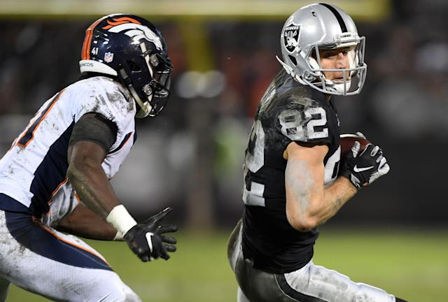 The Raiders will reportedly release veteran wide receiver Jordy Nelson. (Photo by Thearon W. Henderson/Getty Images)