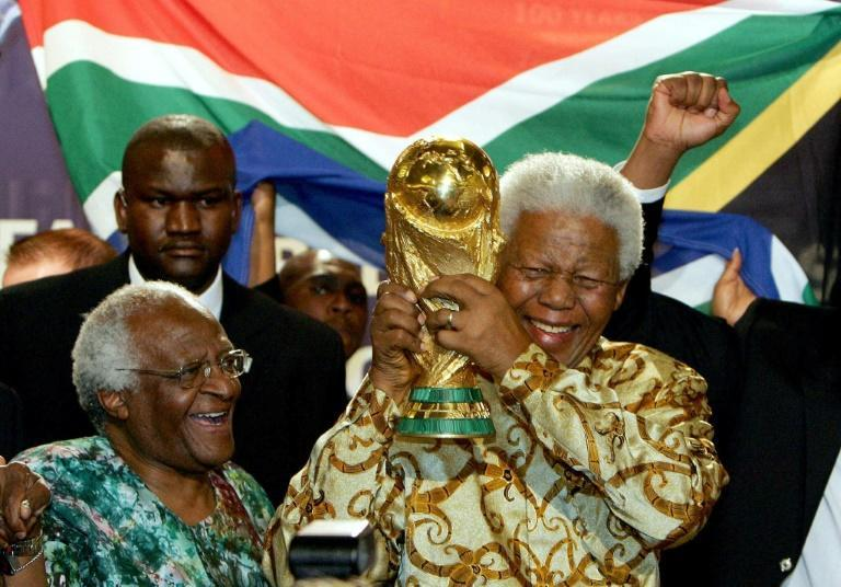 Since Nelson Mandela's death and Tutu's retirement in 2010, South Africa sometimes feels adrift without the leadership of its anti-apartheid liberation icons (AFP/Franck FIFE)