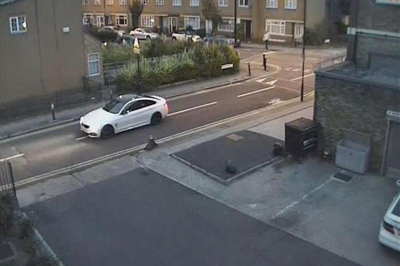 Police appeal: Detectives are hunting for this white BMW: Met Police