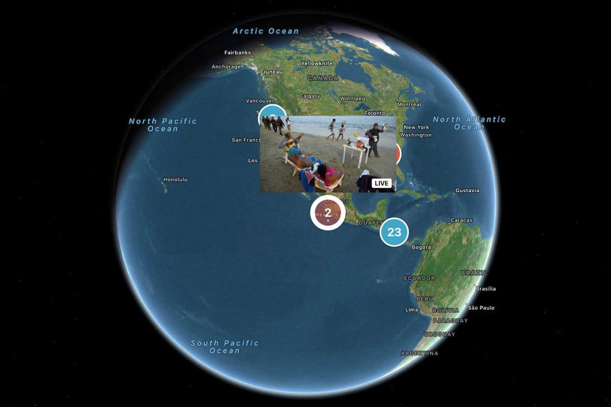 Full 360-degree video is branching outside of mobile viewing with Twitter's latest Apple TV app update, which also adds a Global Map view for live-streams. Twitter is the first platform to bring 360 to Apple TV.