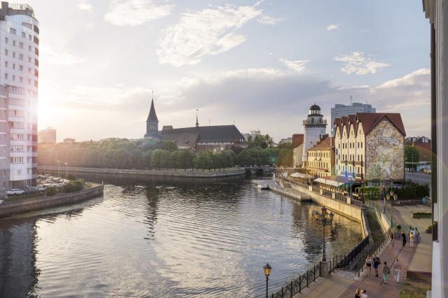 Kaliningrad was voted the top emerging travel destination in the world (Getty)