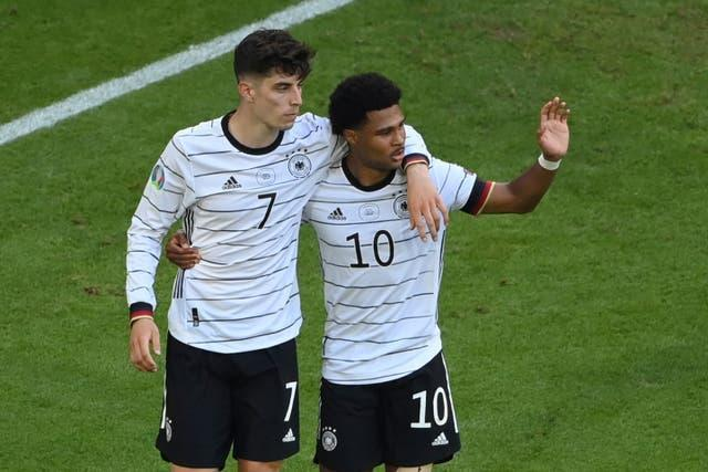 Germany take on Hungary in the final Group F match on Wednesday evening