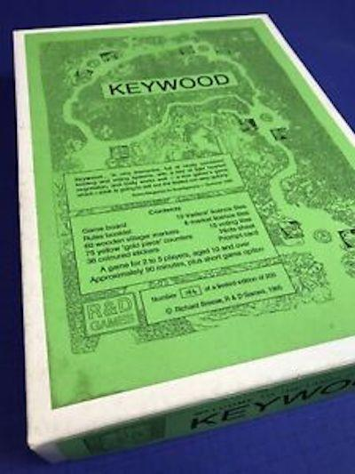 """<p>Only real nerds owned this game (hi, me), and if you kept yours (hi, not me), it could be worth <a href=""""https://www.ebay.com/itm/VINTAGE-WADDINGTONS-KEYWORD-BOARD-GAME-PARKER-BROTHERS/291110945852"""" rel=""""nofollow noopener"""" target=""""_blank"""" data-ylk=""""slk:$60"""" class=""""link rapid-noclick-resp"""">$60</a>.</p>"""