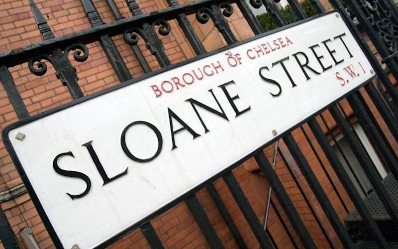 Sloane Street named after Sir Hans Sloane - Stu / Alamy Stock Photo