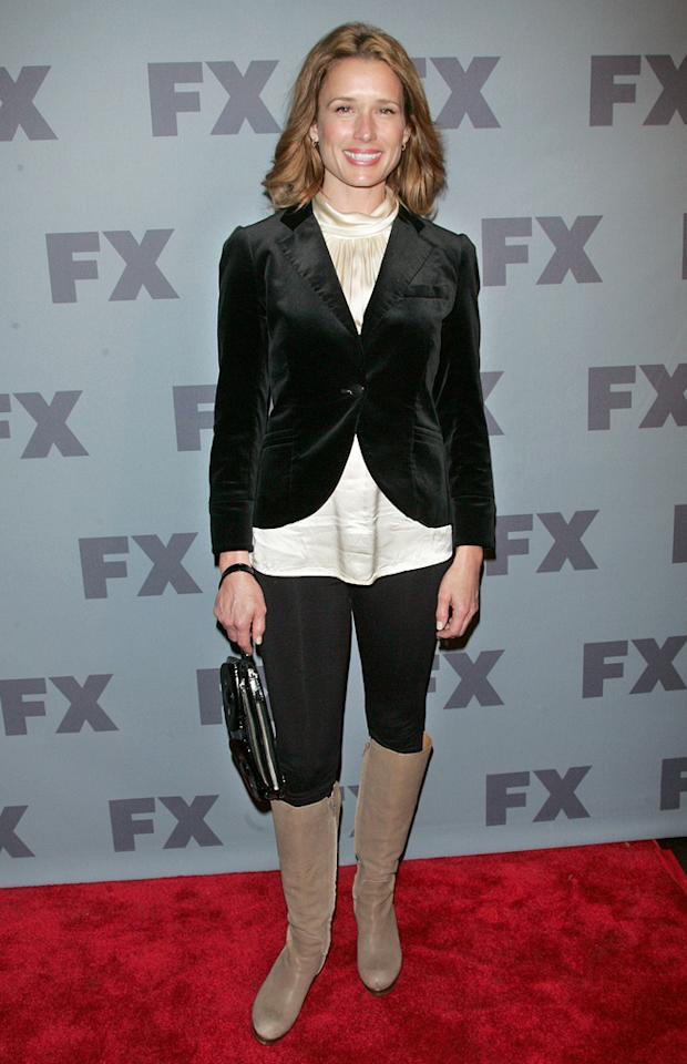 "Shawnee Smith (""<a href=""http://tv.yahoo.com/anger-management/show/48408"">Anger Management</a>"") attends FX's 2012 Upfronts at Lucky Strike on March 29, 2012 in New York City."