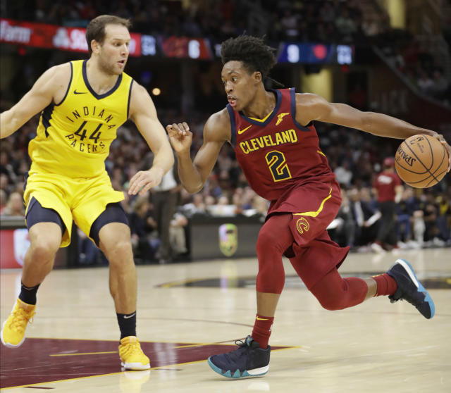 Yes, now it really should be Collin Sexton time in Cleveland. (AP)