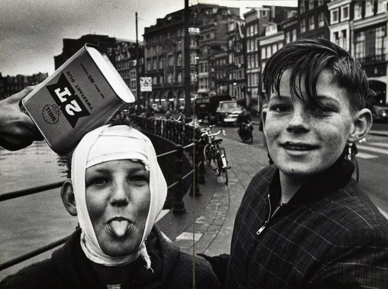 Van Der Elsken was one of the first photographers who endlessly walked the streets and captured 1950s life in his own raw style