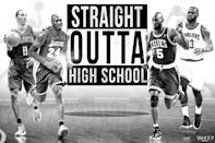 <p>Find out where these NBA stars would have gone to college. </p>