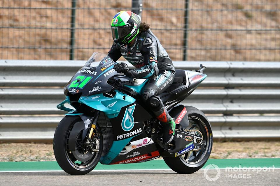 "Franco Morbidelli, Petronas Yamaha SRT<span class=""copyright"">Gold and Goose / Motorsport Images</span>"