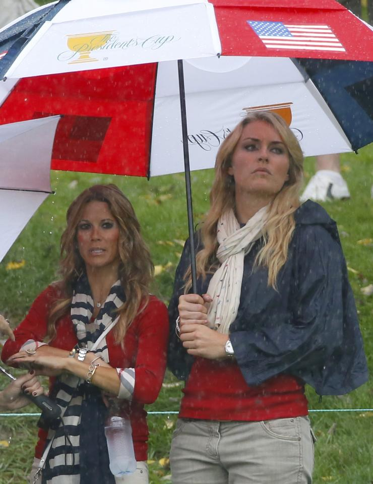 Lindsey Vonn And The Golf Wags At The Presidents Cup