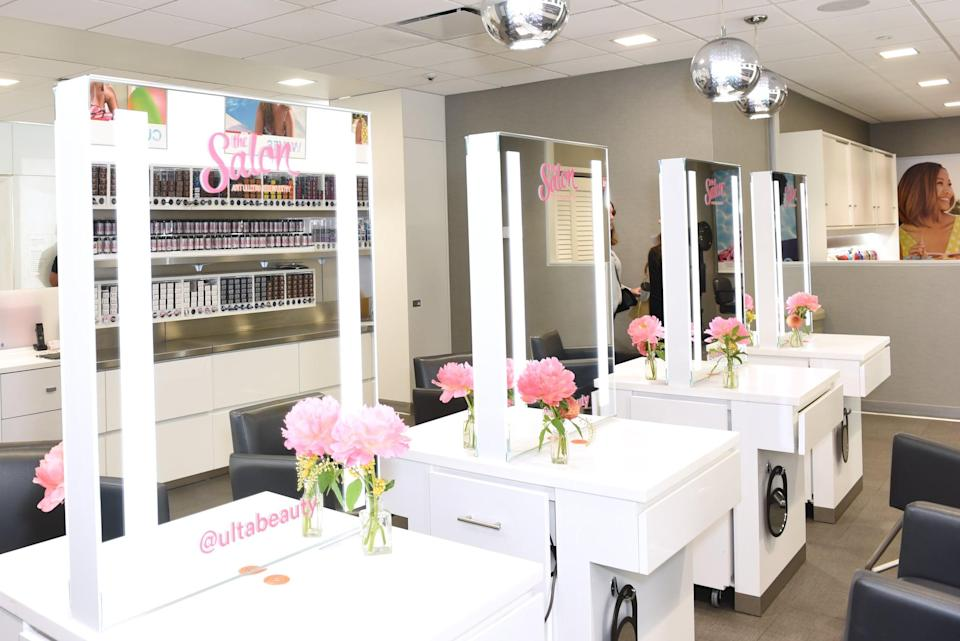 "<p>If you're used to going to Ulta Beauty or the Nordstrom Beauty Haven for eyebrow touch ups or <a href=""https://www.popsugar.com/beauty/blow-dry-bars-reopening-coronavirus-47457546"" class=""link rapid-noclick-resp"" rel=""nofollow noopener"" target=""_blank"" data-ylk=""slk:hairstyling appointments"">hairstyling appointments</a>, you may want to check ahead of time if that service is actually available. While beauty retail stores have been allowed to reopen, not all personal care services have. </p> <p>Sephora has decided at this time to not offer in-store treatments, while Ulta Beauty and Nordstrom's Beauty Haven have resumed select services. For the Beauty Haven, this includes <a href=""https://www.popsugar.com/beauty/blow-dryer-hair-salons-safe-coronavirus-47478661"" class=""link rapid-noclick-resp"" rel=""nofollow noopener"" target=""_blank"" data-ylk=""slk:dry-styling Drybar blowouts"">dry-styling Drybar blowouts</a>, Base Coat manicures, and Anastasia Beverly Hills brow shaping. ""We're only offering beauty services in our stores where it's allowed by state and local ordinances,"" said West. ""We are so happy we can offer our New York customers this selection of beauty services and look forward to offering more services when ordinances allow.""</p> <p>At Ulta Beauty, hair and brow services are also available. ""Our salons are currently providing hair and brow services; some are even booked weeks in advance,"" said Kecia Steelman, chief store operations officer and president of international at Ulta Beauty. ""We look forward to resuming skin services soon.""</p>"
