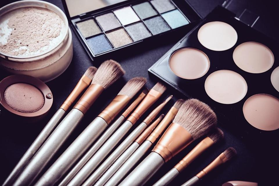 """As people age, their immune systems tend to weaken, making them more susceptible to infections like the ones caused by <a href=""""https://bestlifeonline.com/clean-makeup-brushes/?utm_source=yahoo-news&utm_medium=feed&utm_campaign=yahoo-feed"""" rel=""""nofollow noopener"""" target=""""_blank"""" data-ylk=""""slk:unwashed makeup tools"""" class=""""link rapid-noclick-resp"""">unwashed makeup tools</a>. The good news? The makeup brush cleaners you can get at your local drugstore can remove a significant percentage of the harmful microbes on your brushes, <a href=""""https://digitalscholarship.unlv.edu/thesesdissertations/2717/"""" rel=""""nofollow noopener"""" target=""""_blank"""" data-ylk=""""slk:reducing your risk of developing staph"""" class=""""link rapid-noclick-resp"""">reducing your risk of developing staph</a> or any other brush-related illness."""