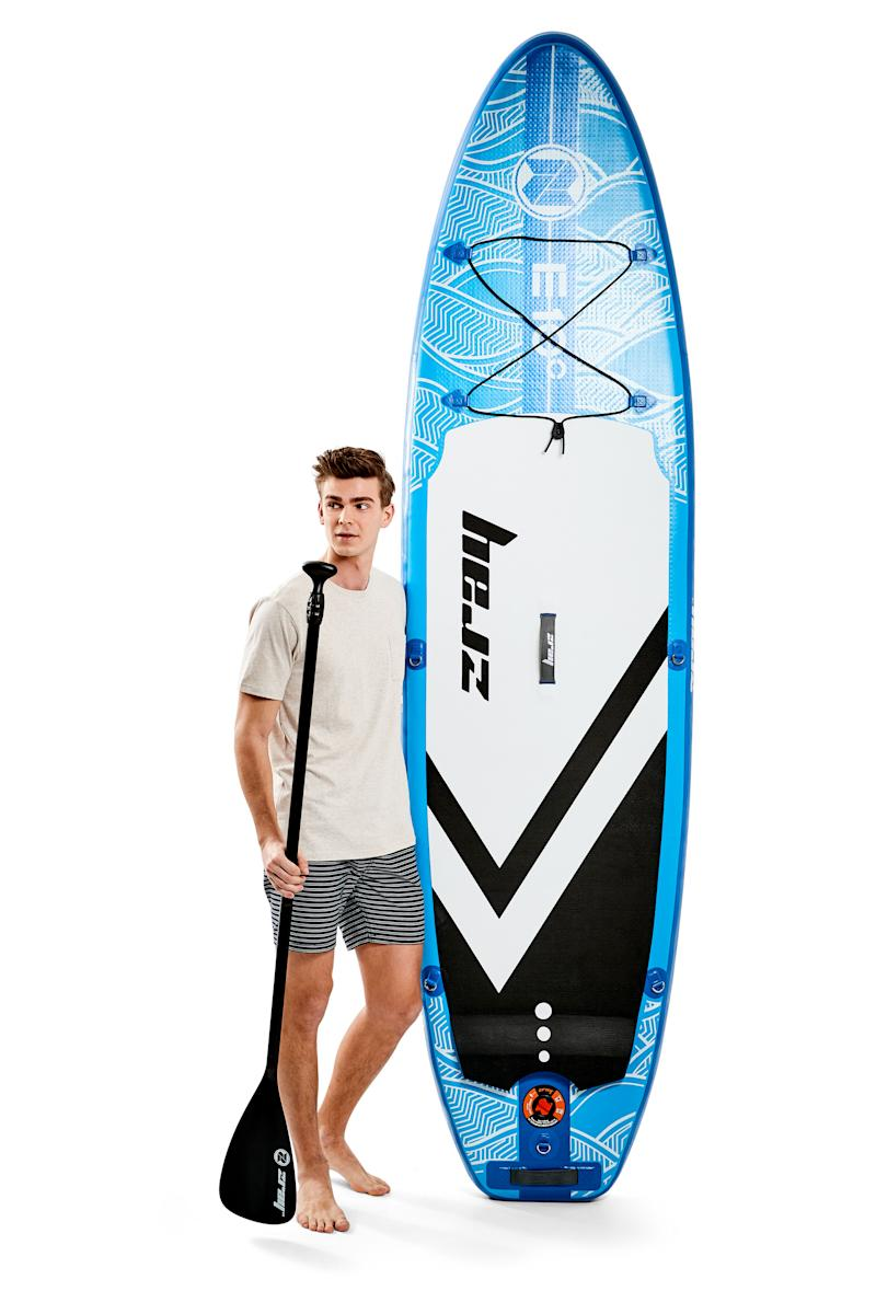 Kmart inflatable 9-foot stand-up paddle board set