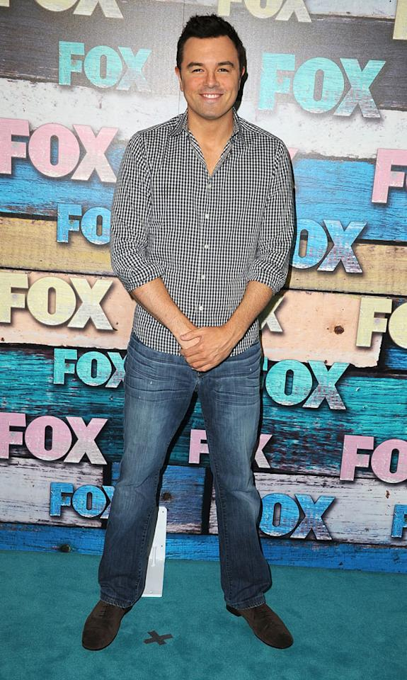 """Seth MacFarlane (""""Family Guy,"""" """"American Dad"""") arrives at the Fox Summer 2012 All-Star Party on July 23, 2012 at the Soho House in West Hollywood, California."""