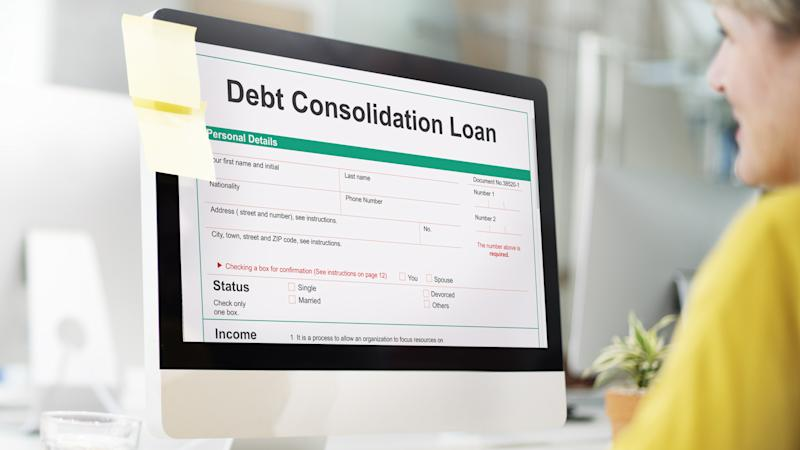 How does consolidating credit cards affect credit