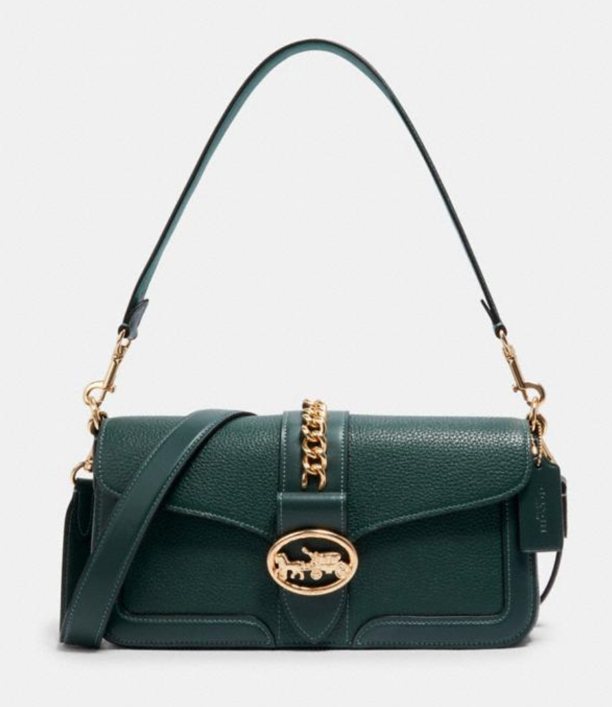 Coach 'Georgie' Shoulder Bag (Photo via Coach Outlet)