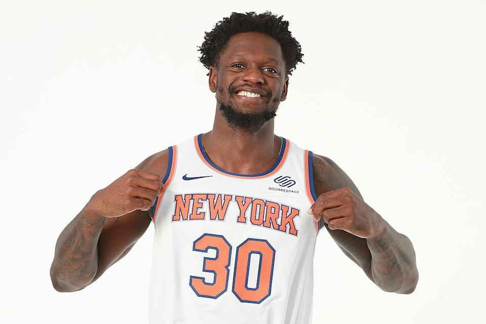 """<p>""""This guy's going crazy this year,"""" Durant said of the New York Knicks athlete when he selected him during the second round.</p>"""
