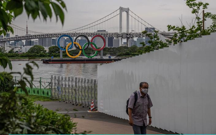 With less than three months to go until the start of the Tokyo 2020 Olympic Games, concern continues to mount over the feasibility of hosting the event while Japan grapples with a fourth wave - Getty