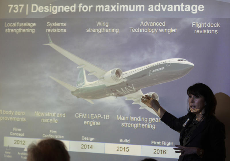 Boeing hopes for year of the Max at air show