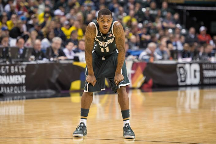Former Michigan State Spartans guard Keith Appling in 2014